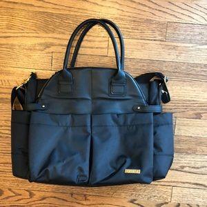 Skip Hop Black baby bag